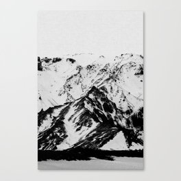 Minimalist Mountains Canvas Print