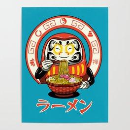 Daruma Zen Ramen Poster
