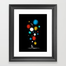 The Worlds Ahead of You Framed Art Print