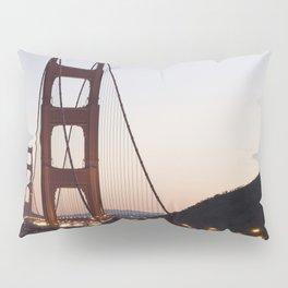 Golden Gate Bridge at Twilight Pillow Sham