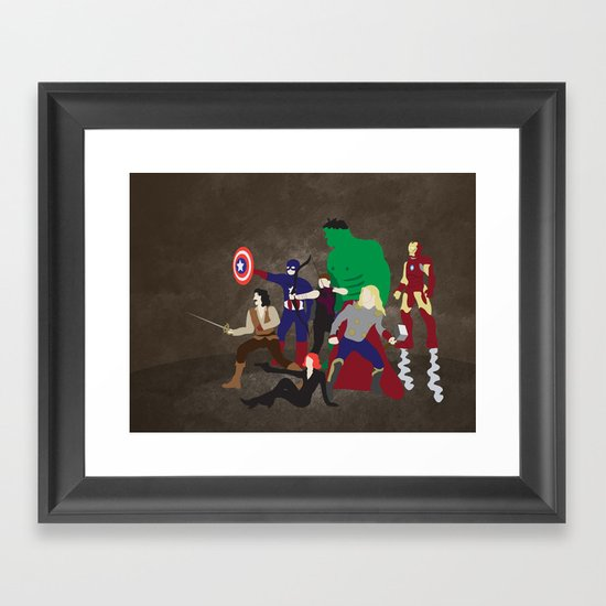 Prepare to Be Avenged Framed Art Print