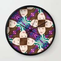 deco Wall Clocks featuring deco by kociara