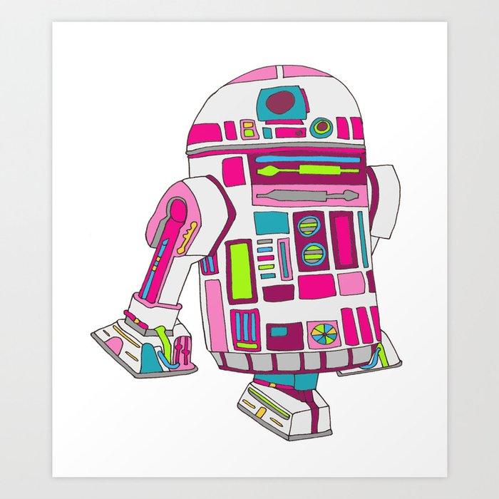 Cool Girls Like Epic Droids Art Print
