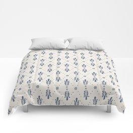 Indigo Meadow Comforters