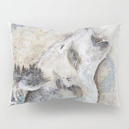 "Animal - ""Sweet Wolf"" - by LiliFlore Pillow Sham"