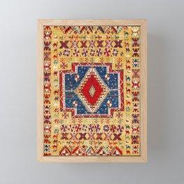 Ait Ouaouzguite Moroccan Berber Rug Print Framed Mini Art Print