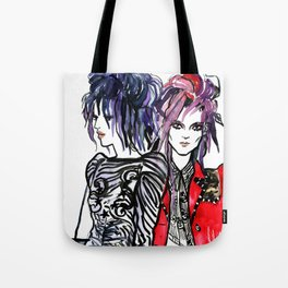 Print on Print Tote Bag