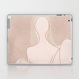 Abstract Woman Figure Laptop & iPad Skin