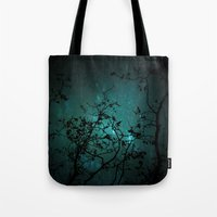night sky Tote Bags featuring Night Sky by ANNA