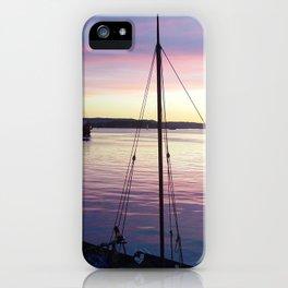 Sunset Oslo iPhone Case