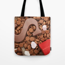 I - Bag with treats, for traditional Dutch holiday 'Sinterklaas' Tote Bag