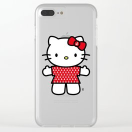 Hello Hoe - Innocent Clear iPhone Case