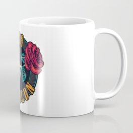 Tattoo Studio Colorful Round Print Coffee Mug