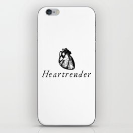 Heartrender iPhone Skin