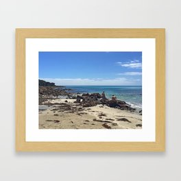 Curtis Bay Framed Art Print