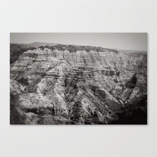 Retro Canyon Canvas Print
