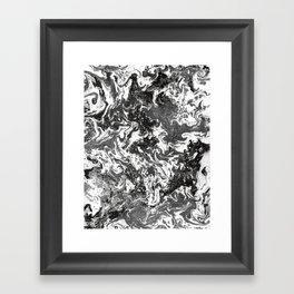 Suminagashi Series (Jing) 精 Framed Art Print