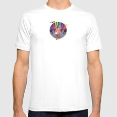 Like I Just Got Home MEDIUM Mens Fitted Tee White
