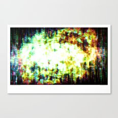 You Are Here, as Are We All Canvas Print