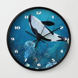 Orca II Wall Clock