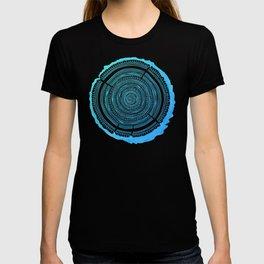 Douglas Fir – Blue Ombré T-shirt