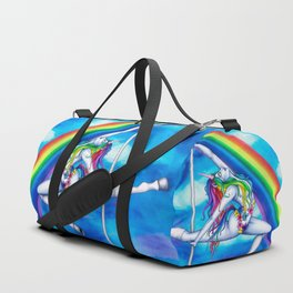 Pole Creatures: Unicorn Duffle Bag