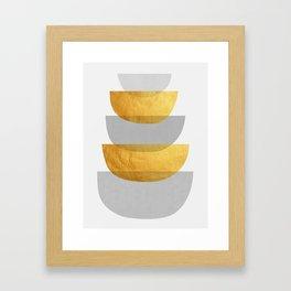 Abstract Golden Art XX Framed Art Print