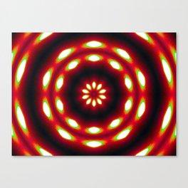 Supermoon Mandala Canvas Print