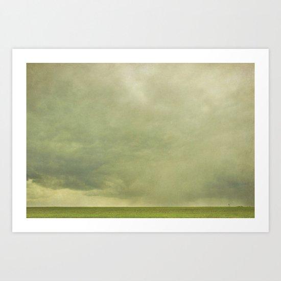 stormfront  Art Print
