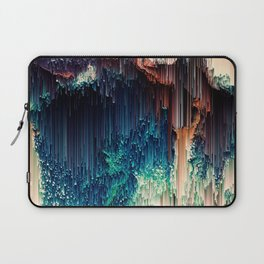 Cave of Wonders - Abstract Glitch Pixel Art Laptop Sleeve