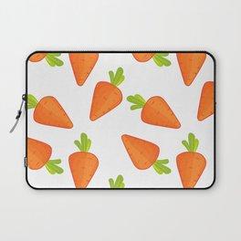 carrot pattern Laptop Sleeve