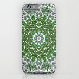 Her Mermaid Sea Kaleido Green iPhone Case
