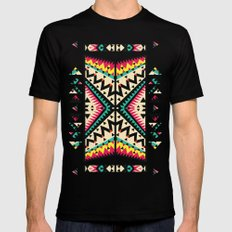 Tribal Mens Fitted Tee Black X-LARGE