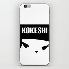 Kokeshi Logo Square Design iPhone & iPod Skin