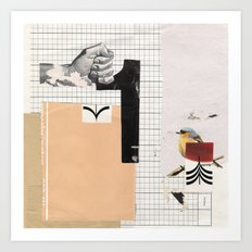 1 - Arrow Bird Art Print