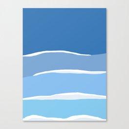 Baja Sets Canvas Print