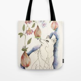 Fox in the fruit Tote Bag