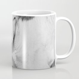 Cute Calf (Black and White) Coffee Mug