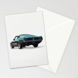 Bullitt - Alternative Movie Poster Stationery Cards