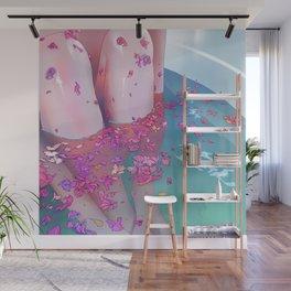 Flower Bath 4 Wall Mural