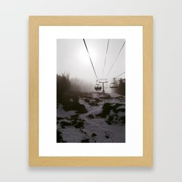 Into the Mist Framed Art Print