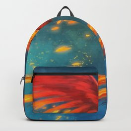 Beautiful phoenix Backpack