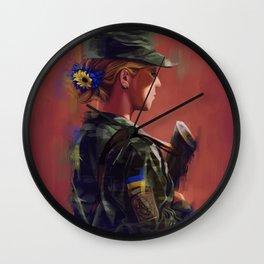 Ukraina Wall Clock