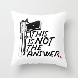 This Is Not Throw Pillow