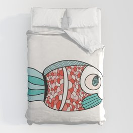 One Fish Duvet Cover