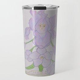 Flor de Fantasias Larkspur Travel Mug