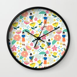 Jemima Wall Clock