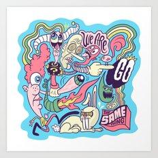 Doodle #2389 Art Print