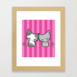 Best Friends (Smittened Kittens) Framed Art Print