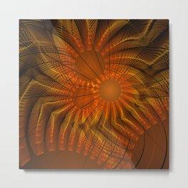 fractal: fireworks Metal Print